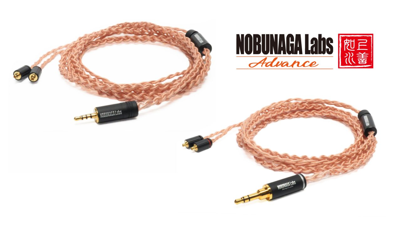 "【WiseTechブース】NOBUNAGA Labs新シリーズ""NOBUNAGA Labs Advance""の新製品MMCXリケーブルを展示"