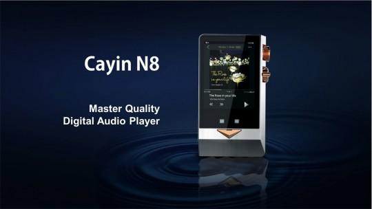 【Cayin】N8:KORG「Nutube」を搭載した約3年ぶりの新フラッグシップDAP